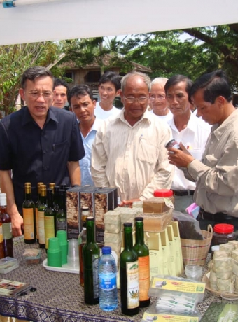 """""""Kampot Pepper Festival"""" organized by KPPA in April 2011"""