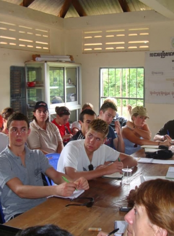 Study visit of students from Europe with KPPA in 2011