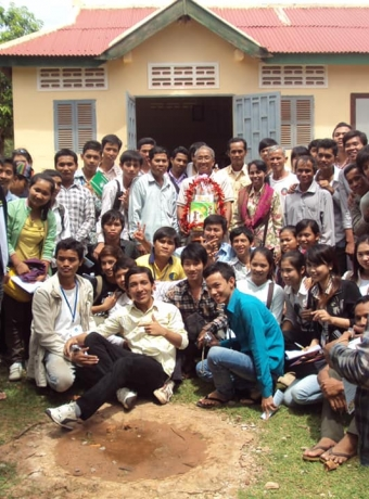 Study visit of Students from Agricultural University to visit KPPA in 2010