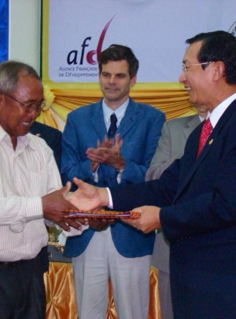 Ceremony of official registration of Kampot pepper as GI product in Cambodia on April 02, 2010