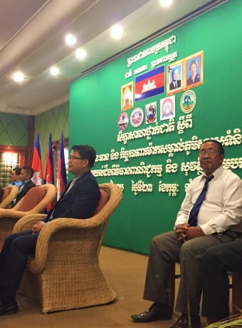 National seminar on GI concept and protection in Cambodia organized by the Ministry of Commerce (MoC) and Kampot Pepper Promotion Association (KPPA) at Siem Reap in 2016