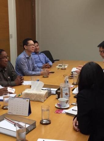 Meeting of KPPA and supermarket mangers in Bangkok, Thailand